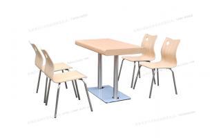华莱士汉堡店餐桌椅堡大斯汉堡店卡座晨堡汉堡店桌椅餐桌汉堡店四人餐桌卡座ftkzy4-094